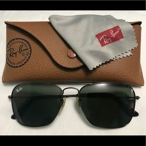Authentic Ray-Ban Caravan RB3136 Sunglasses